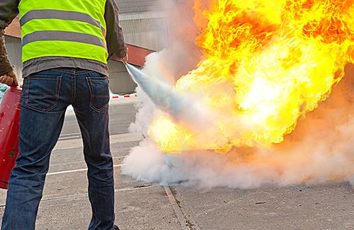 Brand- und Sicherungsposten gemäß DGUV R 113-004