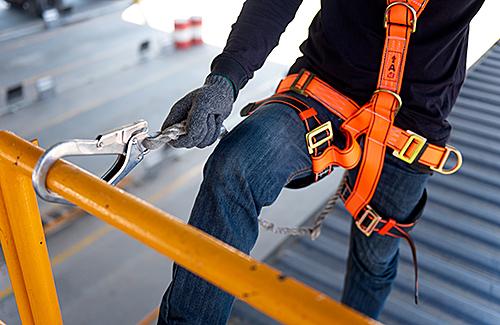 Fortbildungslehrgang: Benutzung von persönlichen Schutzausrüstungen (PSA) gegen Absturz