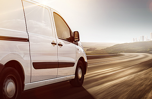 Ladungssicherung im Kleintransporter