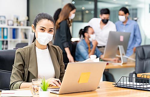 Einhaltung von Hygienestandards zum Schutz von Beschäftigten und Dritten
