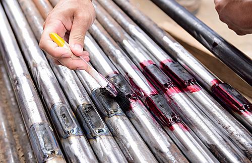 Qualifizierung - Farbeindringprüfung - PT 1 und PT 2 mit Zertifizierung